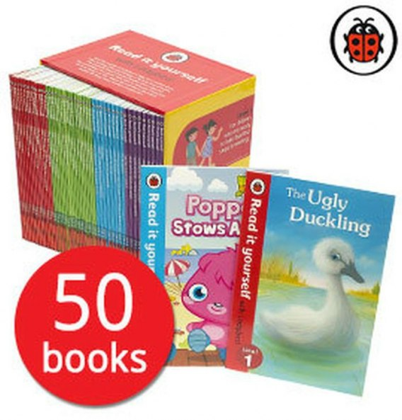 Read it Yourself with Ladybird Collection 50 Books Box Set