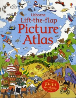 Lift the Flap Picture Atlas by Alex Frith (Author)