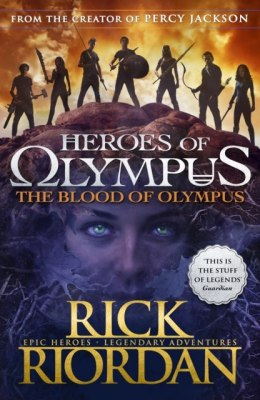 The Blood of Olympus (Heroes of Olympus Book 5) by Rick Riordan (Author)