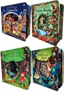 Usborne Peep Inside a Fairy Tale Collection 4 Books Set Cinderella Sleeping beauty Beauty and beast Little Red Ridding Hood