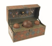 Harry Potter: Collectible Quidditch Set by Running Press