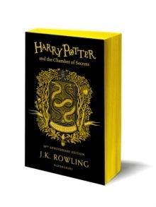 Harry Potter and the Chamber of Secrets - Hufflepuff Edition by J.K. Rowling