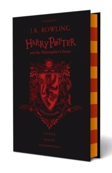 Harry Potter and the Philosopher's Stone by J.K. Rowling (Gryffindor Edition)