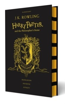 Harry Potter and the Philosopher's Stone by JK Rowling Hufflepuff Edition