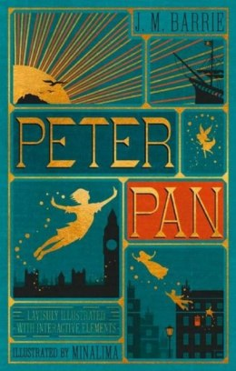 Peter Pan (Minalima Edition) by J.M Barrie