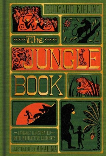 The Jungle Book (Illustrated with Interactive Elements) by Rudyard Kipling (Author)