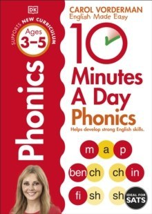 10 Minutes A Day Phonics Ages 3-5 by Carol Vorderman