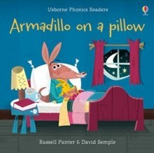 Armadillo on a Pillow by Russell Punter