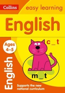 Collins Easy Learning Preschool : English Ages 3-5: Prepare for School with Easy Home Learning by Collins Easy Learning