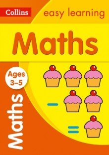 Collins Easy Learning Preschool : Maths Ages 3-5: Prepare for School with Easy Home Learning by Collins Easy Learning