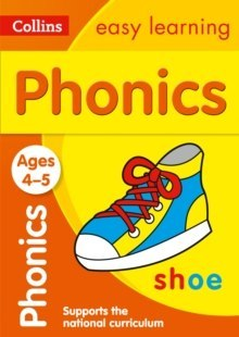 Collins Easy Learning Preschool : Phonics Ages 4-5: Ideal for Home Learning