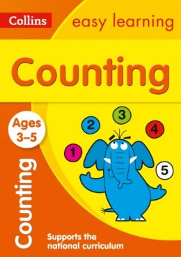 Counting Ages 3-5 : Prepare for Preschool with Easy Home Learning by Collins Easy Learning