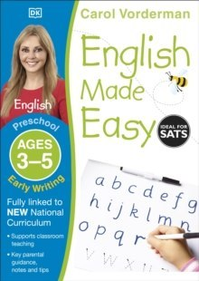 English Made Easy Early Writing Ages 3-5 Preschool by Carol Vorderman