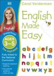 English Made Easy The Alphabet Ages 3-5 Preschool by Carol Vorderman