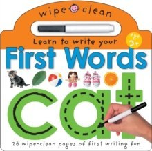 First Words : Wipe Clean Learning