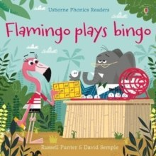 Flamingo plays Bingo by Russell Punter