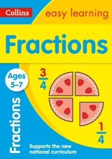 Fractions Ages 5-7 : Ideal for Home Learning by Collins Easy Learning