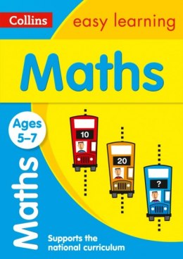 Maths Ages 5-7 : Prepare for School with Easy Home Learning by Collins Easy Learning