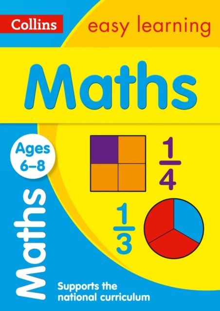 Maths Ages 6-8 : Ideal for Home Learning by Collins Easy Learning