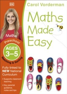 Maths Made Easy Matching and Sorting Ages 3-5 Preschool by Carol Vorderman