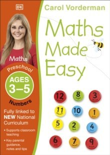 Maths Made Easy Numbers Ages 3-5 Preschool by Carol Vorderman