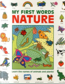 My First Words: Nature (giant Size) by Baxter Nicola (Author)