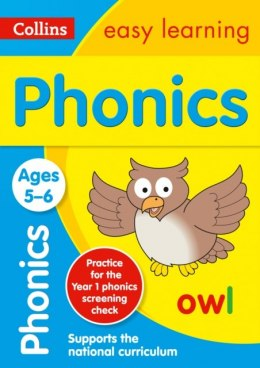 Phonics Ages 5-6 : Ideal for Home Learning by Collins Easy Learning