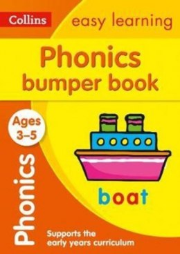 Phonics Bumper Book Ages 3-5 : Prepare for Preschool with Easy Home Learning by Collins Easy Learning