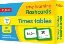 Times Tables Flashcards : Ideal for Home Learning
