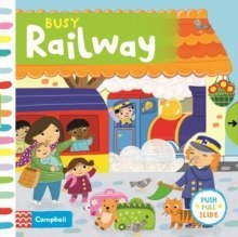 Busy Railway by Campbell Books