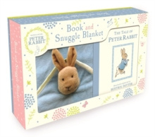 Peter Rabbit Book and Snuggle Blanket by Beatrix Potter