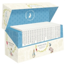 The World of Peter Rabbit - The Complete Collection of Original Tales 1-23 White Jackets by Beatrix Potter
