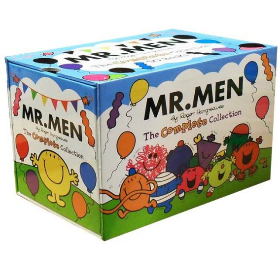 Mr. Men: The Complete Collection - 47 Books