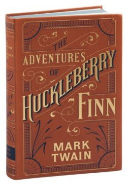 Adventures of Huckleberry Finn (Barnes & Noble Flexibound Classics) by Mark Twain