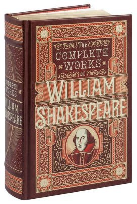 Complete Works of William Shakespeare (Barnes & Noble Omnibus Leatherbound Classics) by William Shakespeare