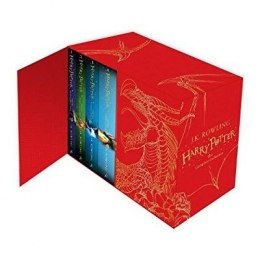 Harry Potter Box Set: The Complete Collection Children's Hardback by J.K. Rowling