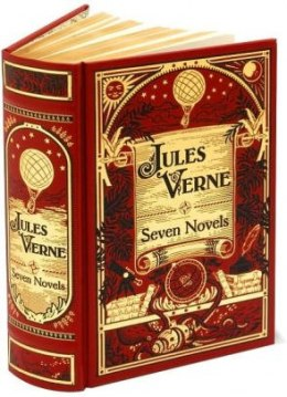 Jules Verne (Barnes & Noble Omnibus Leatherbound Classics) : Seven Novels by Jules Verne