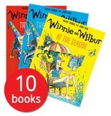 Winnie and Wilbur Collection 10 Books Set By Valerie Thomas