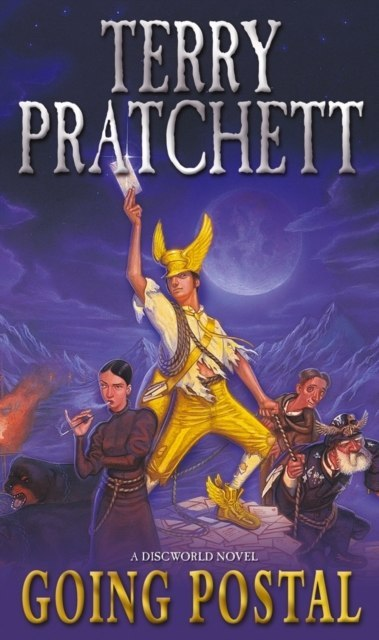 Going Postal : (Discworld Novel 33) by Terry Pratchett