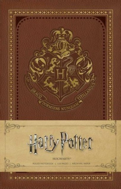 Harry Potter: Hogwarts Ruled Notebook by Insight Editions