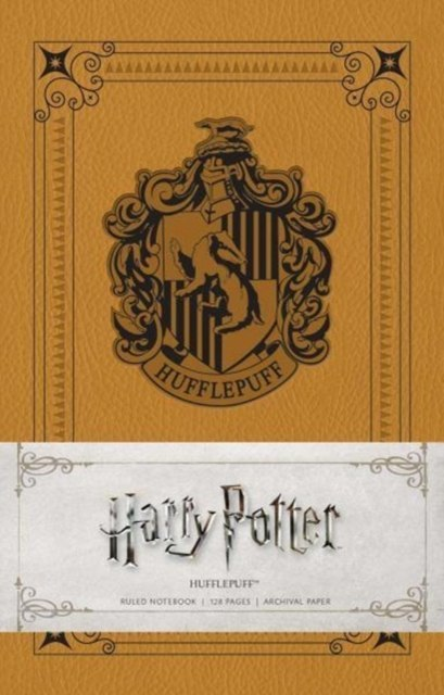 Harry Potter: Hufflepuff Ruled Notebook by Insight Editions