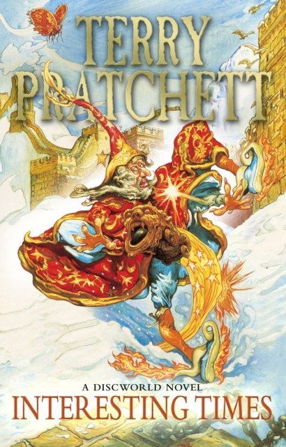 Interesting Times : (Discworld Novel 17) by Terry Pratchett
