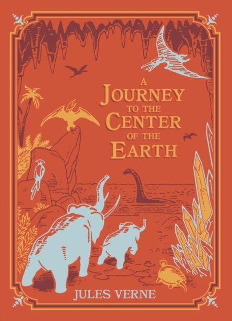 A Journey to the Center of the Earth (Barnes & Noble Children's Leatherbound Classics) by Jules Vernes