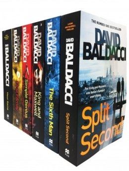 David Baldacci King and Maxwell Thriller 6 Books Collection