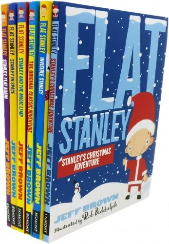 Flat Stanley's Christmas Collection 6 Books Set