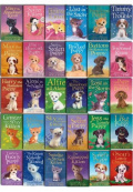 Holly Webb Complete Collection 30 Books Set Puppy and Kitten - Animal Stories, Pet Rescue Adventure Series