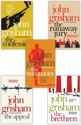 John Grisham 5 Books Collection Set