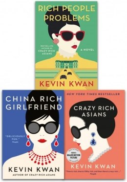 Kevin Kwan Crazy Rich Asians Trilogy Collection