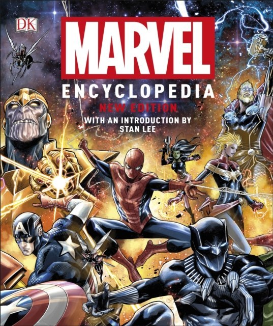 Marvel Encyclopedia New Edition by Stan Lee, DK