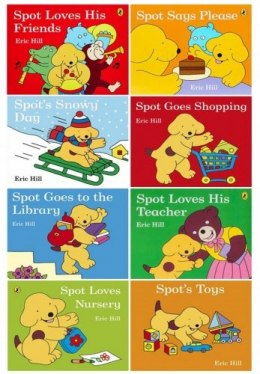 Spot Story Collection 8 Books Set Pack by Eric Hill